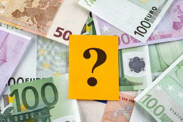 Fragezeichen auf Euronoten - Was hilft gegen offene Posten?